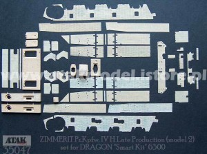 35047 ZIMMERIT Pz.Kpfw. IV H Late Version  #2