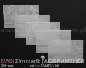 ZM-1613 ZIMMERIT JAGDPANTHER for TAMIYA kit
