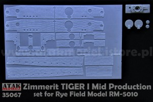 35067 ZIMMERIT TIGER I Mid Production