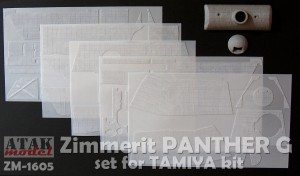 ZM-1605 ZIMMERIT PANTHER G for TAMIYA kit