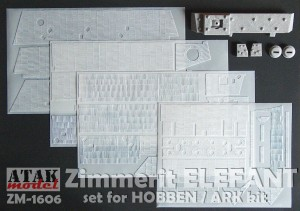 ZM-1606 ZIMMERIT ELEFANT for HOBBEN kit