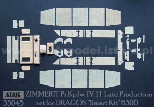 35045 ZIMMERIT Pz.Kpfw. IV H Late Version
