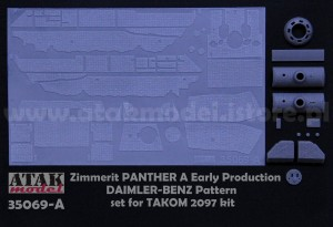 35069-A ZIMMERIT PANTHER A Early , DAIMLER-BENZ Pattern