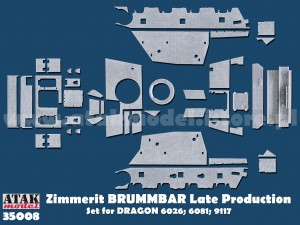 35008 ZIMMERIT BRUMMBAR Late Production
