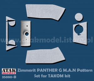 35080-B ZIMMERIT PANTHER G Mid, M.A.N Pattern  (TAKOM)