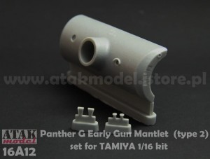 16A12 PANTHER G Early Gun Mantlet (type 2)