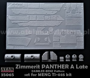 35065 ZIMMERIT PANTHER A Late, DAIMLER-BENZ Pattern