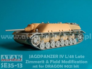 SE35-13 JAGDPANZER IV L/48 Late ZIMMERIT & FIELD MODIFICATION