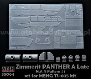35064 ZIMMERIT PANTHER A Late, M.A.N Pattern #1