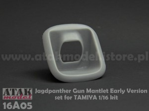16A05 JAGDPANTHER Gun Mantlet Early Version