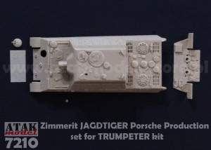 7210 Zimmerit JAGDTIGER Porsche Production
