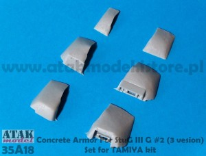 35A18 CONCRETE ARMOR for STUG IIIG (2)