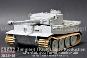 SE35-16 Zimmerit Tiger I Early Production
