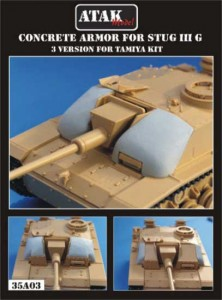 35A03 CONCRETE ARMOR for STUG IIIG